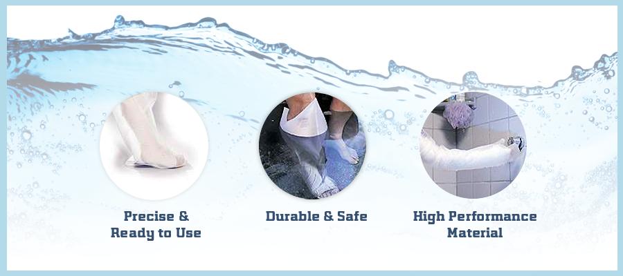 AquaShield Cast & Bandage Protector